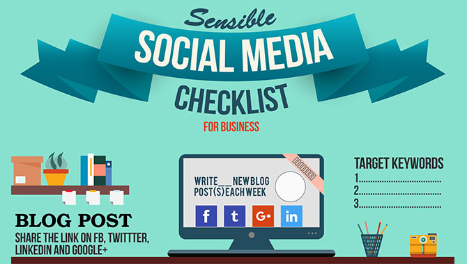 Sensible Social Media Checklist for Businesses [Infographic]