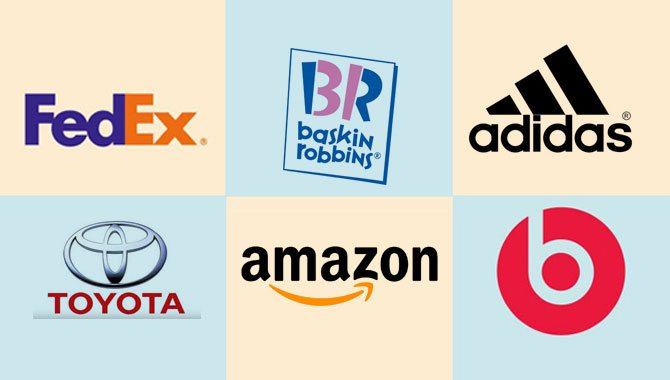 Famous Logos Of Popular Brands