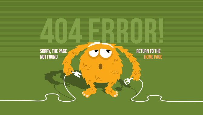 Get Inspired by these Cool and Creative 404 Error Page Designs