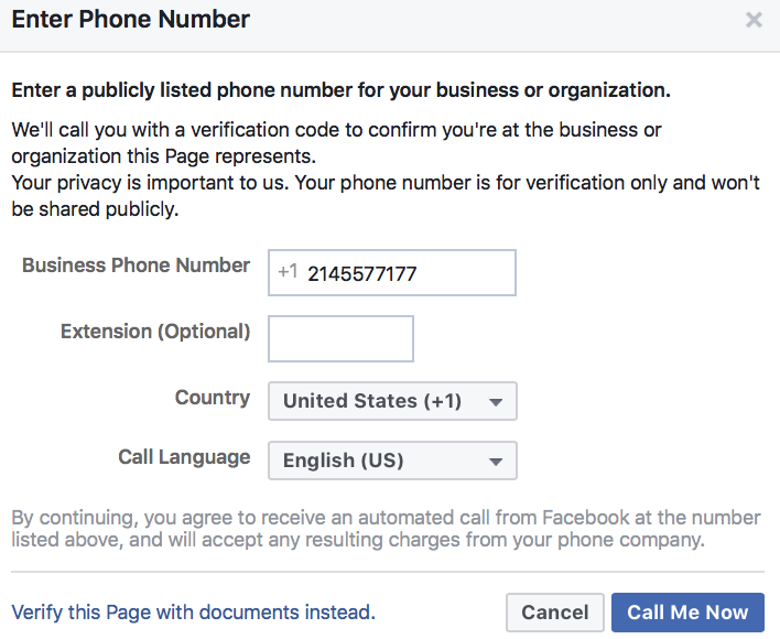 How to Verify Your Facebook Page, Step by Step - Mamsys