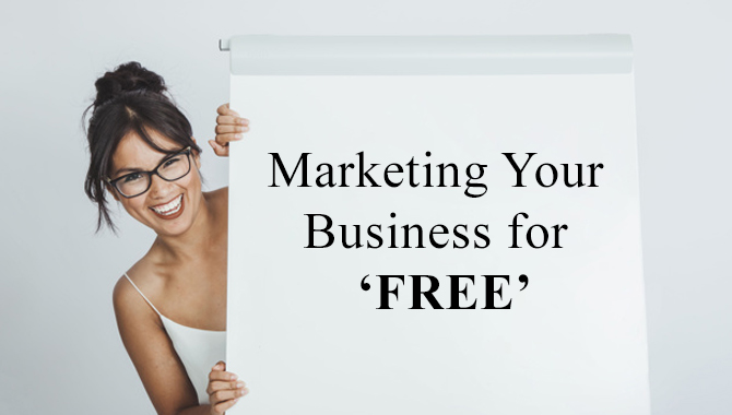 Marketing Your Small Business or Startups for FREE